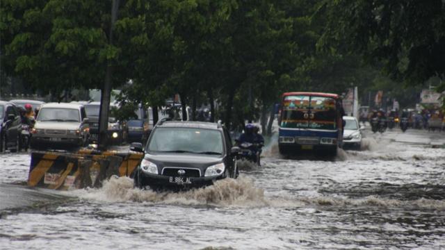 Jakarta Banjir di Mana-mana