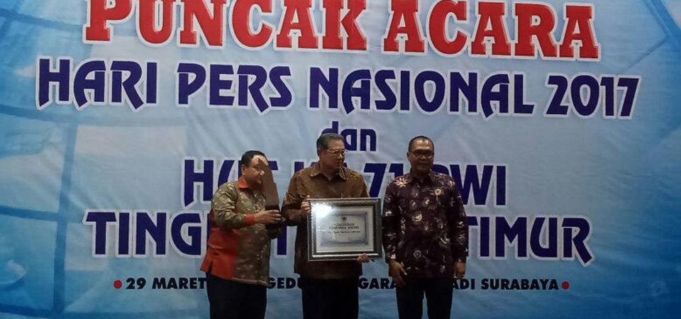 SBY Terima Anugerah Prapanca Agung