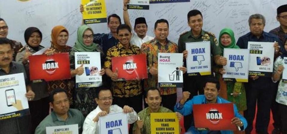 Deklarasi Tolak Hoax di Tangerang