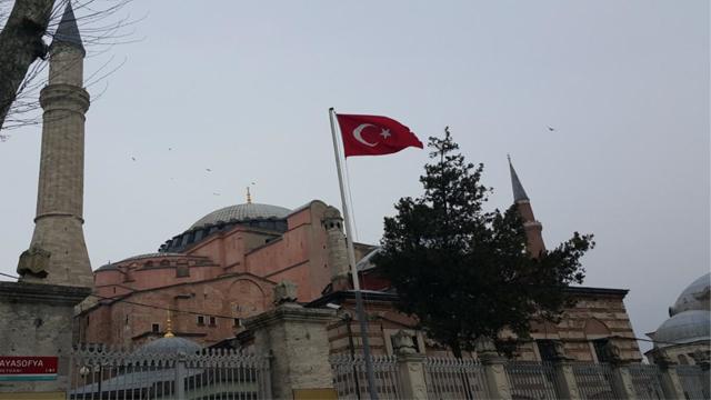 Hagia Sofia Tambatan Hati Yuza