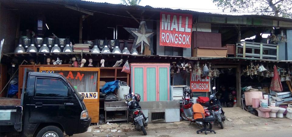 Mall Rongsok, Fantasi Seni Barang Bobrok