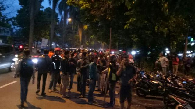 Bentrok Angkot dan Ojek Online, Bogor Mencekam