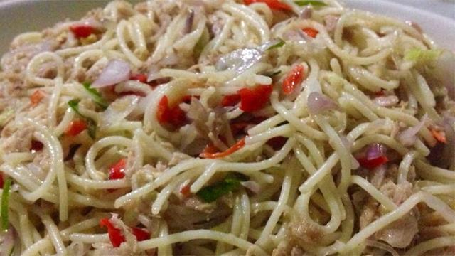 Ada Spaghetti Sambal Matah, Berani Coba?