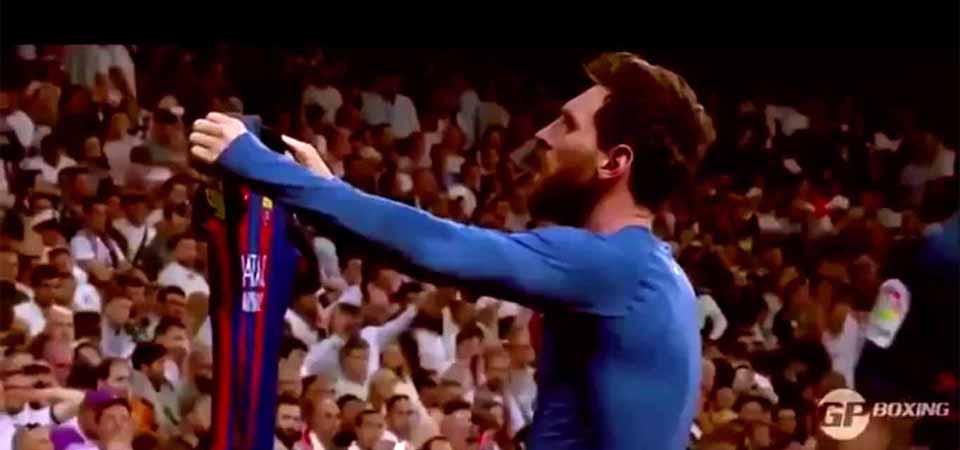 Selebrasi Gol Kebanggaan Messi dalam El Clasico