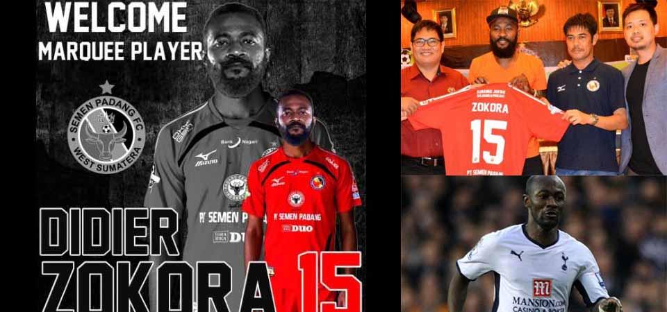 Didier Zokora Perkuat Semen Padang FC