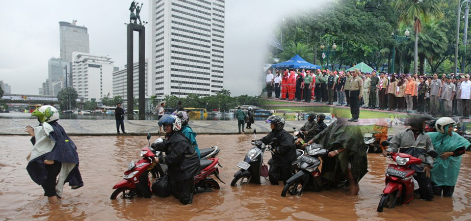 Pemprov DKI Bentuk Relawan Siaga Bencana