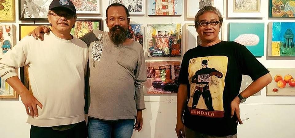 Panggung Bayu Wardhana, Pelukis On the Spot