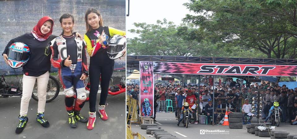 Tiga Ladies RacerBanten Bosan Ditangkap Polisi