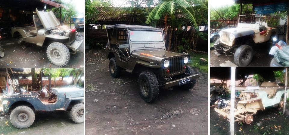 Jeep Willys, Seribu Kisah yang tak Habis