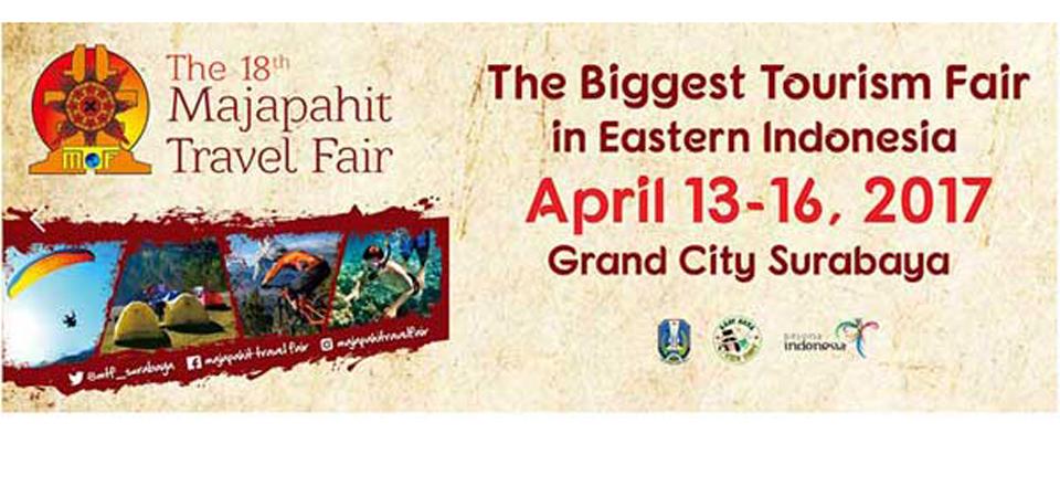 Majapahit Travel Fair ke-18, Sasar 16 Negara