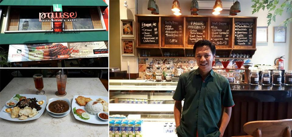 Brongkos dan Nasgor Rawon Favorit di Pause Kedai Makan & Ngopi