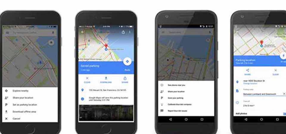 Google Maps Tambah Fitur Pengingat Tempat Parkir