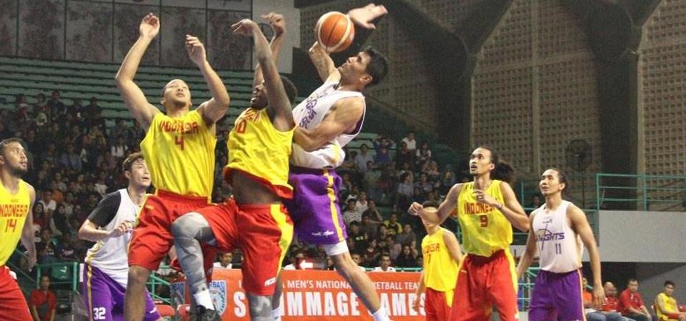 Ikuti SEABA 2017, Timnas Basket Bawa 12 Pemain