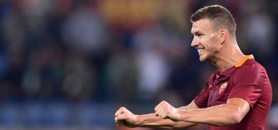 Edin Dzeko Top Skor Liga Italia
