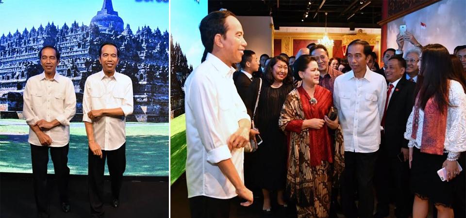 Patung Jokowi di Madame Tussauds Hong Kong