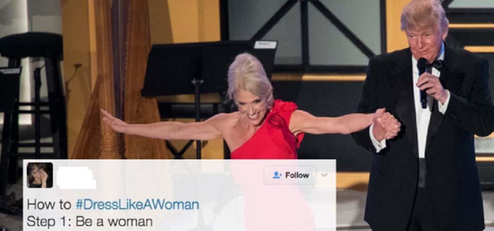 Pesan Trump untuk Perempuan: Berpakaianlah Layaknya Wanita