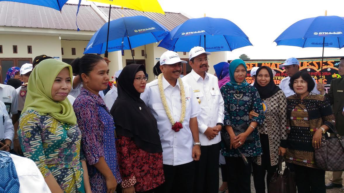 Menteri Pariwisata Resmikan Perumahan Pesona Indonesia