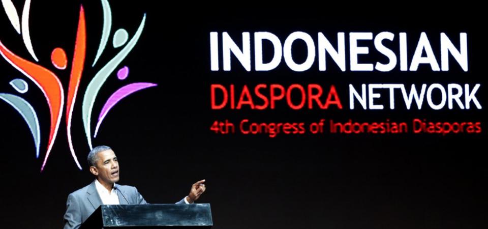 Obama Beri Pidato Kunci di Kongres Diaspora Indonesia