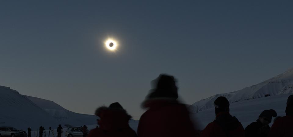 Bagaimana dan dimana melihat gerhana matahari total di AS