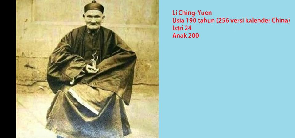 Li Ching-Yuen, Manusia Berumur 256 Tahun, Hoax atau Realitas?