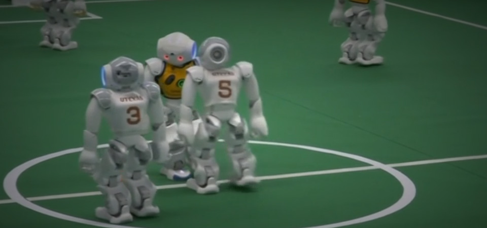 Robot AS  menang di final RoboCup