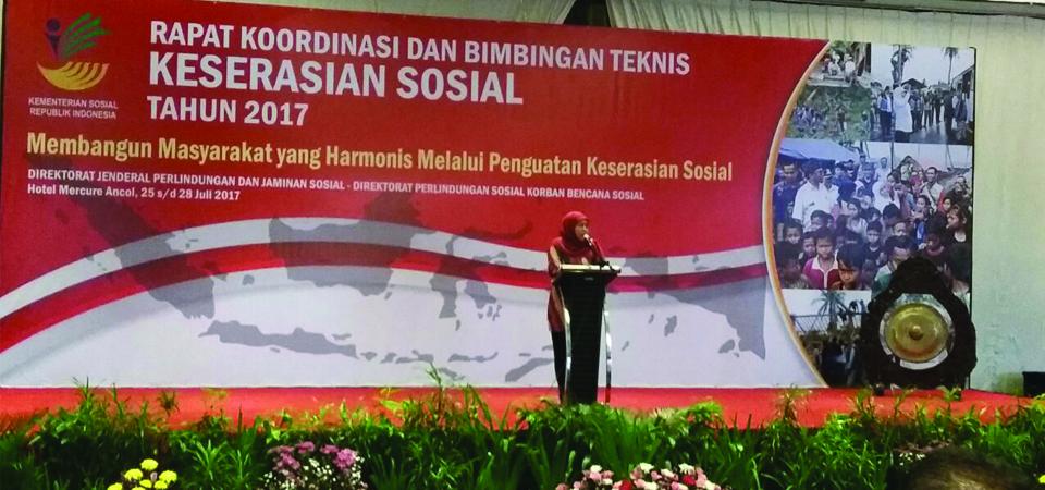 Mensos: Cegah Konflik Sosial dengan Membangun Harmoni