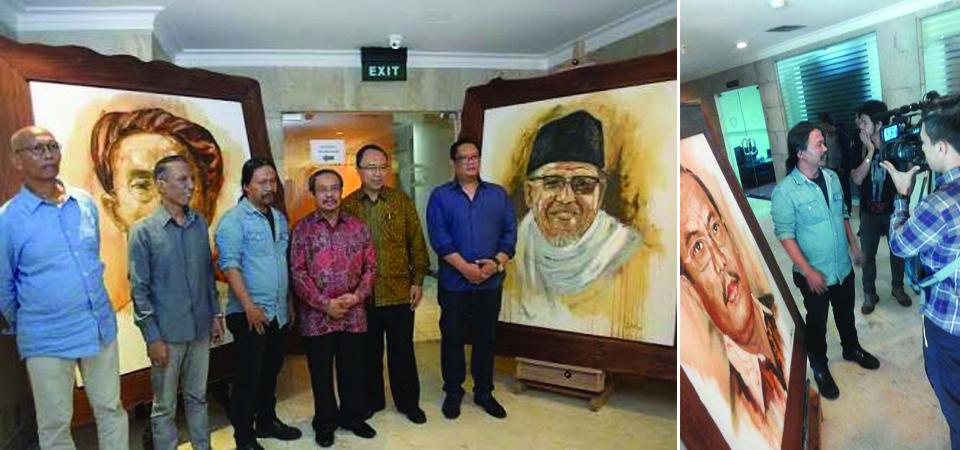 Tujuh Presiden dalam Satu Kanvas