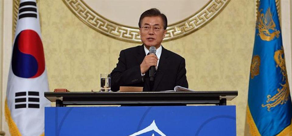 Moon Jae-In Jamin tak Ada Perang di Semenanjung Korea