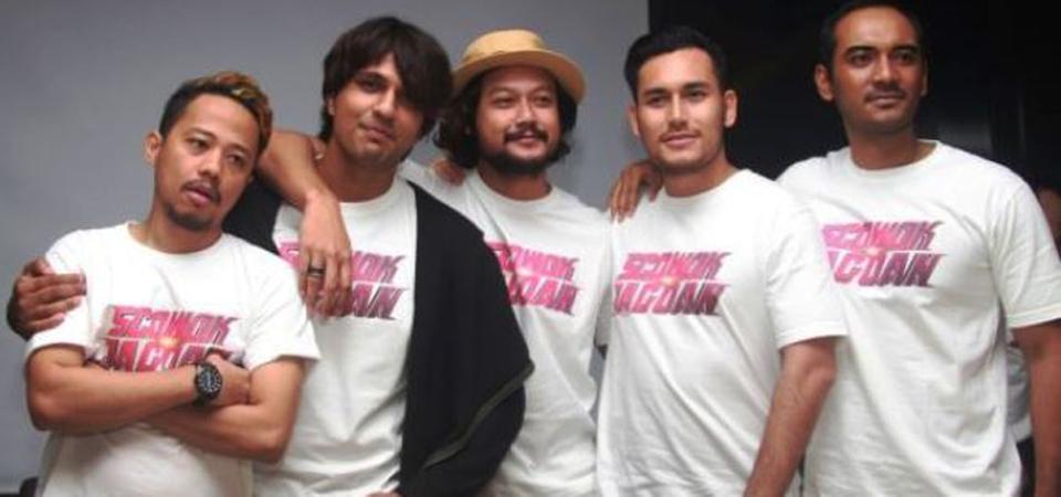 Semangat Dua Generasi Film '5 Cowok Jagoan'