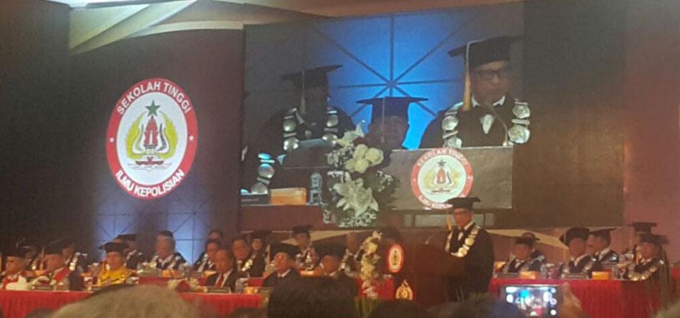 Tito Karnavian Dikukuhkan Jadi Guru Besar STIK