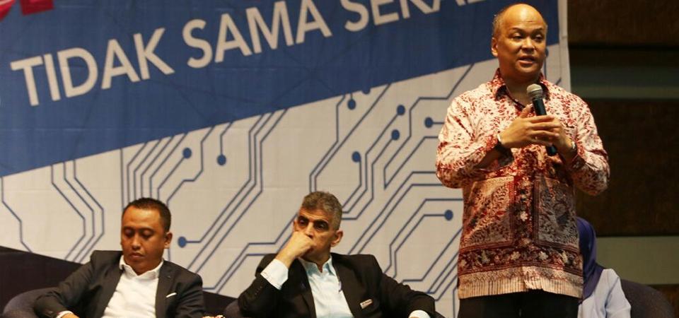 Ilham Habibie Bicara Iptek sebagai Investasi Masa Depan