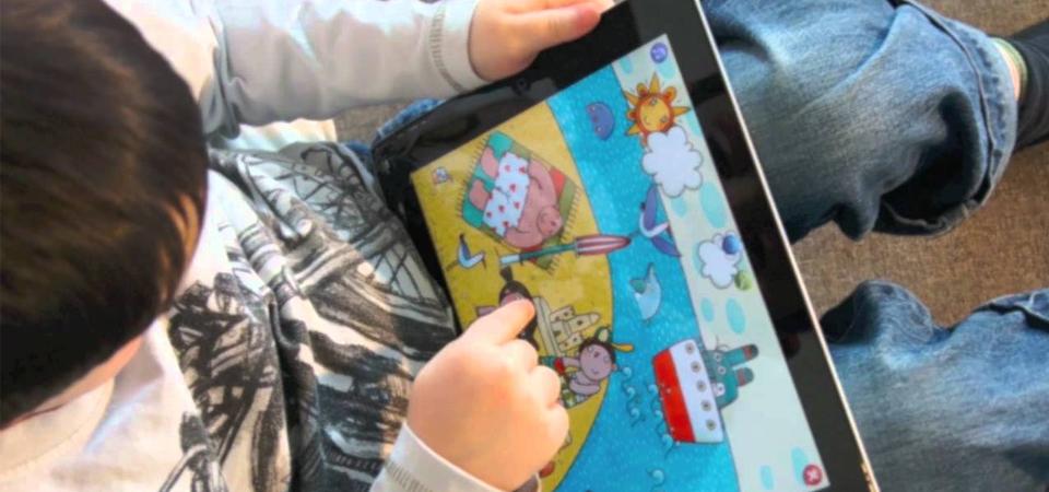 Ajarkan Huruf dengan iPad