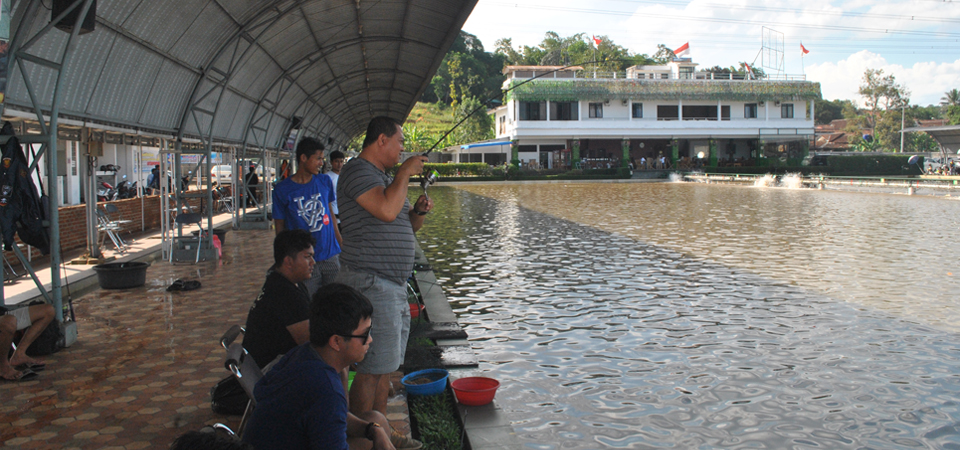 Berebut Lima Ratus Juta di Pemancingan Sumedang