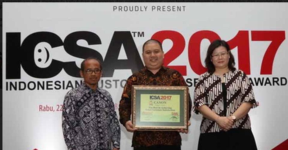 Printer Canon Raih Indonesian Customer Satisfaction Award