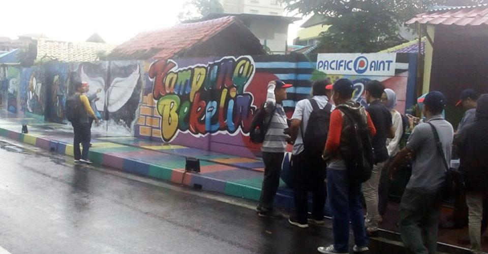 Yok Berwisata ke Kampung Kreatif di Tangerang