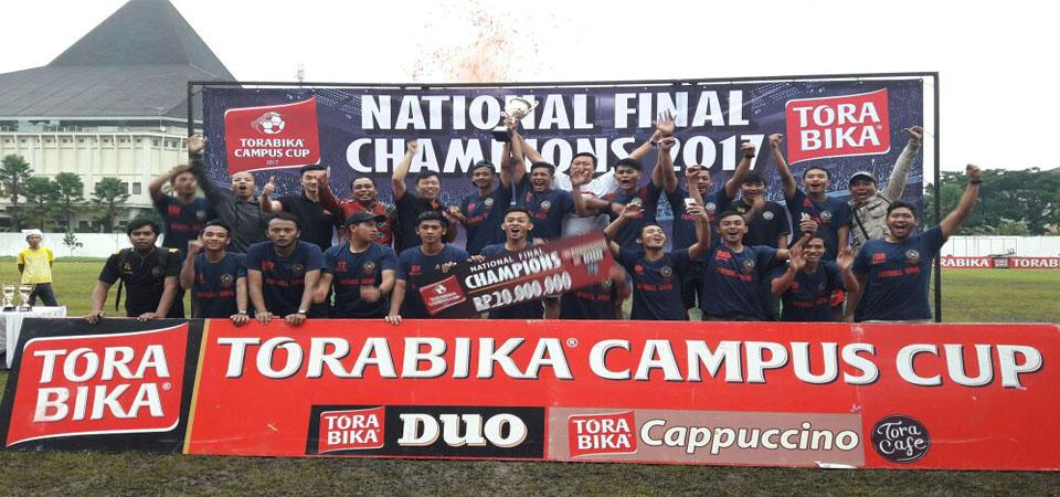 Torabika Campus Cup  Sokong Kemajuan Sepakbola Mahasiswa