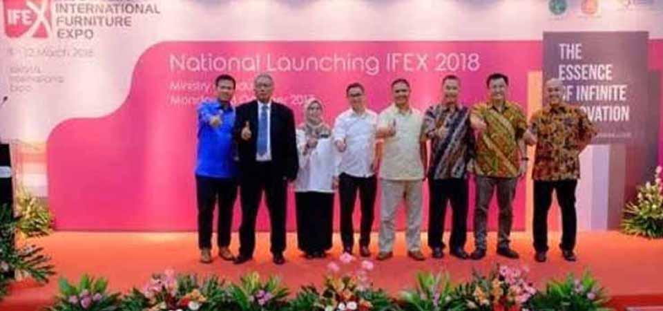 IFEX 2018, Tampilkan Produk Mebel Unggulan Indonesia