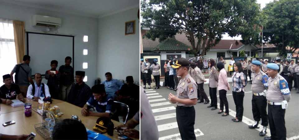 DPMPD Pandeglang, Dikepung Massa
