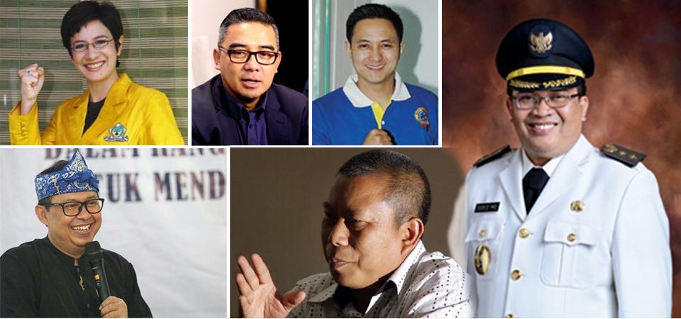 Lebih 20 Orang, Inginkan Kursi Walikota Bandung