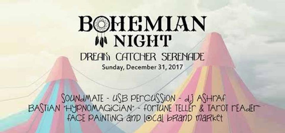 Rayakan Malam Pergantian Tahun dengan Bohemian Night