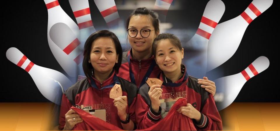 Trio Putri Indonesia Sabet Perunggu di Kejuaraan Dunia Boling