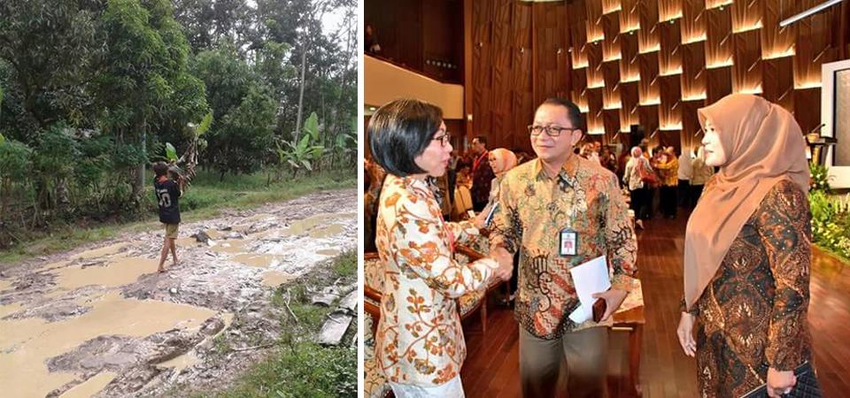 Bupati Perhatian Air dan Sanitasi, Rakyat Minta Perbaikan Jalan