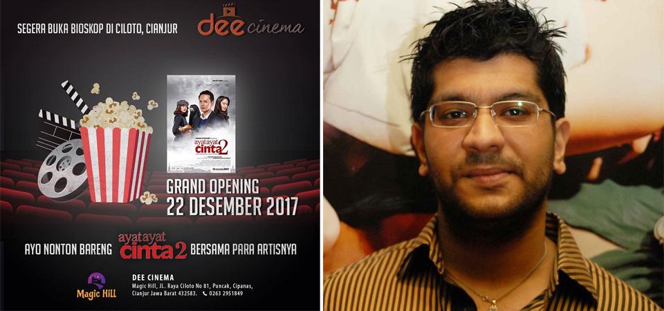 Grand Opening Dee Cinema Didemo Warga dan Ulama