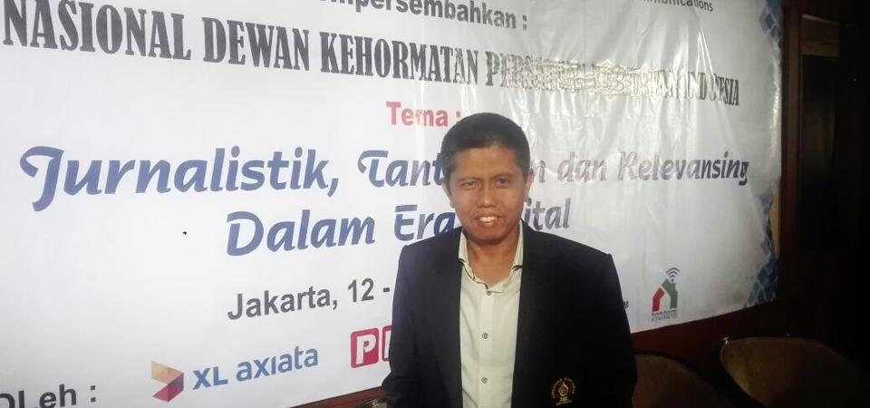 Fendri Jaswir JK: DK PWI Buat Kode Perilaku Wartawan