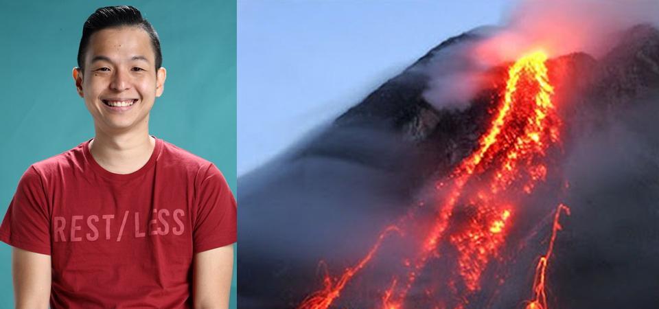 Ernest Prakasa Galang Dana untuk Pengungsi Gunung Agung