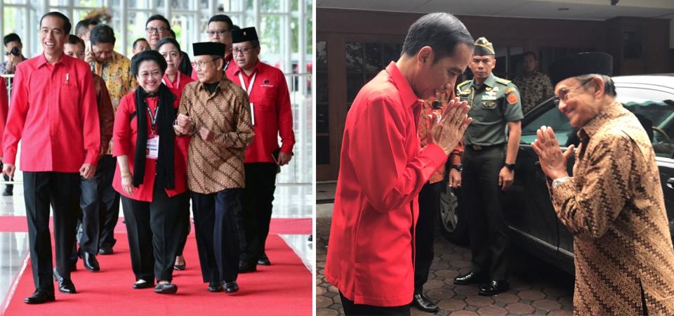 Presiden Jokowi Sempatkan Antar BJ Habibie ke Kediaman