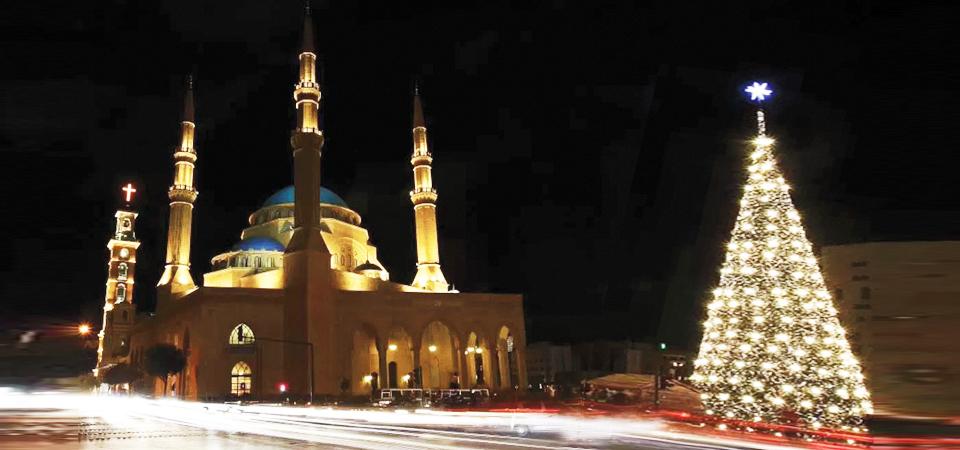 Pohon Natal di Depan Masjid, Pohon Natal Berdaun Pisang