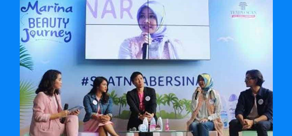 Muda Penuh Talenta di Marina Beauty Journey 2017