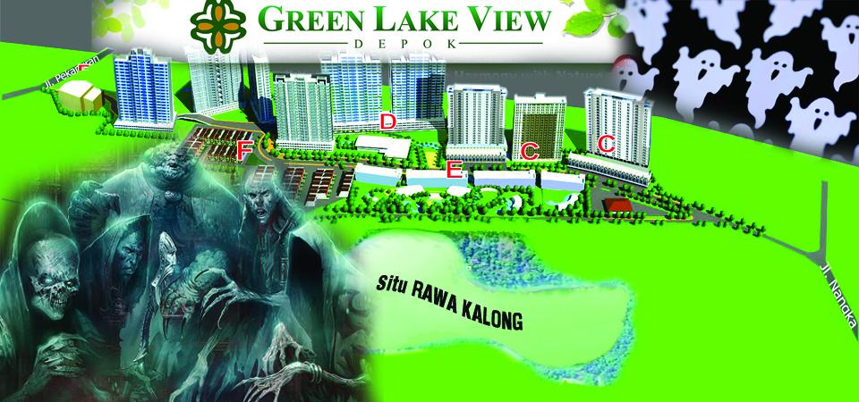 Green Lake View, Bertetangga Sarang Hantu