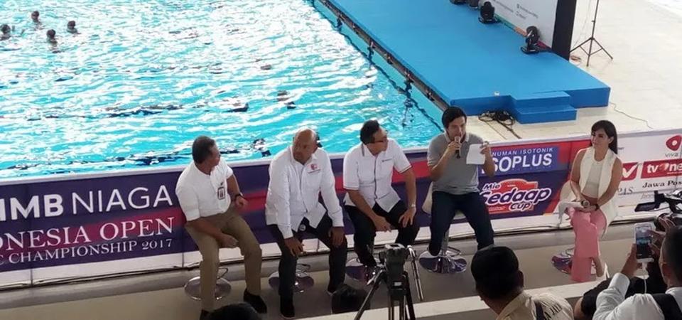 Test Event Renang untuk Hadapi Asian Games 2018